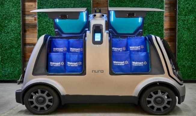 R2車型可以裝載大約12個雜貨袋。(techcrunch.com)