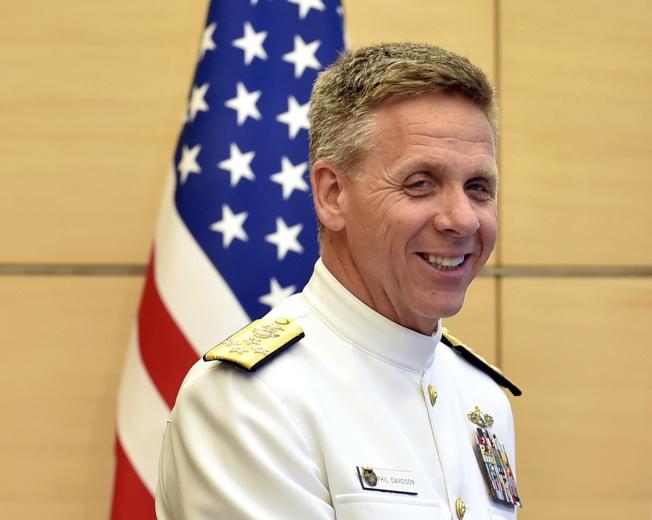美國印太司令部司令戴維森。美聯社