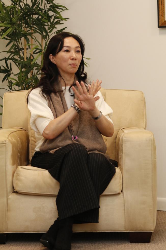 會不會後悔讓韓國瑜競選總統?李佳芬表示,人生最不可能的就是吃了後悔藥。(記者呂賢修/攝影)