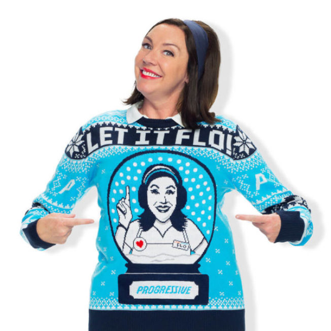 Let It Flo是新產品。(UglyChristmasSweater.com)