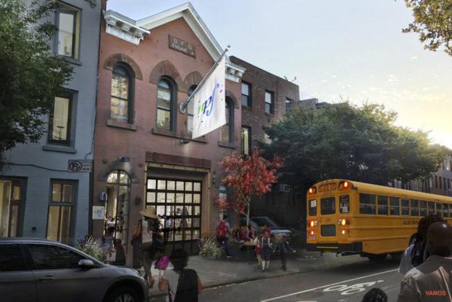 前身為消防局的Degraw街299號空置多年,近期達成協議將改建成一所音樂學校。(取自Vamos Architects網站)