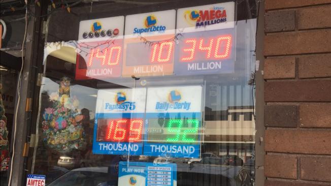 本周二兆彩Mega Millions無人得中大獎,周五獎金累計達3億4000萬元,但11日當天華人社區彩券銷售點購買者並不踴躍。(記者啟鉻╱攝影)