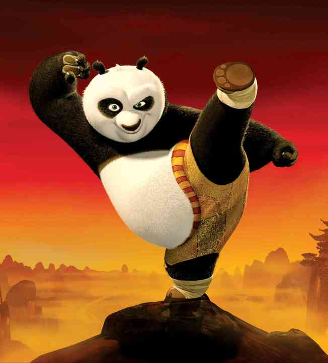 電影「功夫熊貓」。(取材自豆瓣電影)