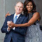 「政治理念不同,但價值觀一樣」米雪兒珍惜與小布希友誼