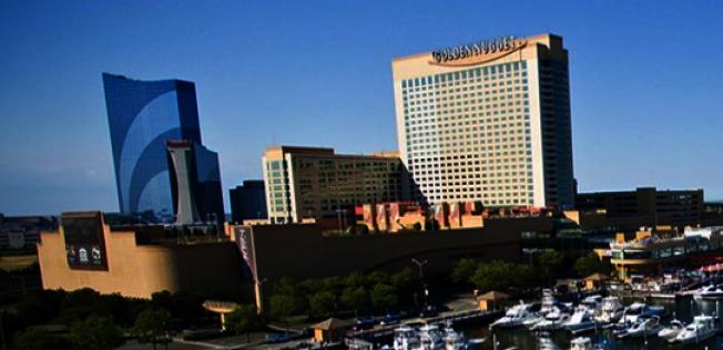 圖為大西洋城金磚賭場酒店。(取自賭場官網)