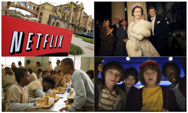 串流媒體業先驅Netflix是10年來表現最好的股票。(美聯社)