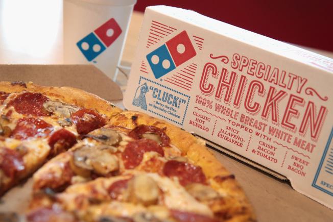 達美樂披薩是近10年最偉大的轉虧為盈代表。(Getty Images)