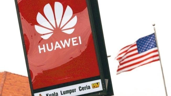中國電信巨擘華為不由自主成為美中貿易戰的籌碼。(歐新社)
