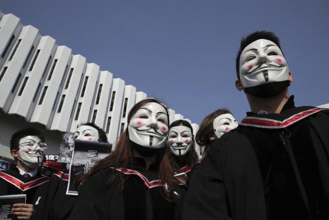 反送中風潮未息,影響香港生繼續留在本地求學意願。(美聯社)