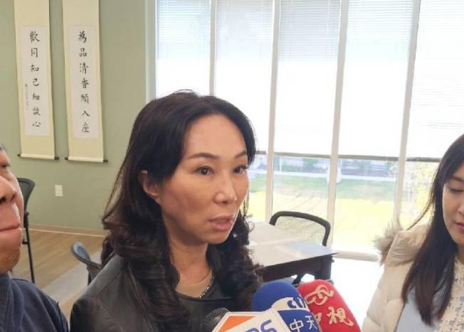 李佳芬認為台灣政策過於繁瑣,NGO經營者苦。(記者蕭永群/攝影)