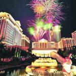 賭城跨年全美第3熱鬧 除夕焰火吸引30萬人潮