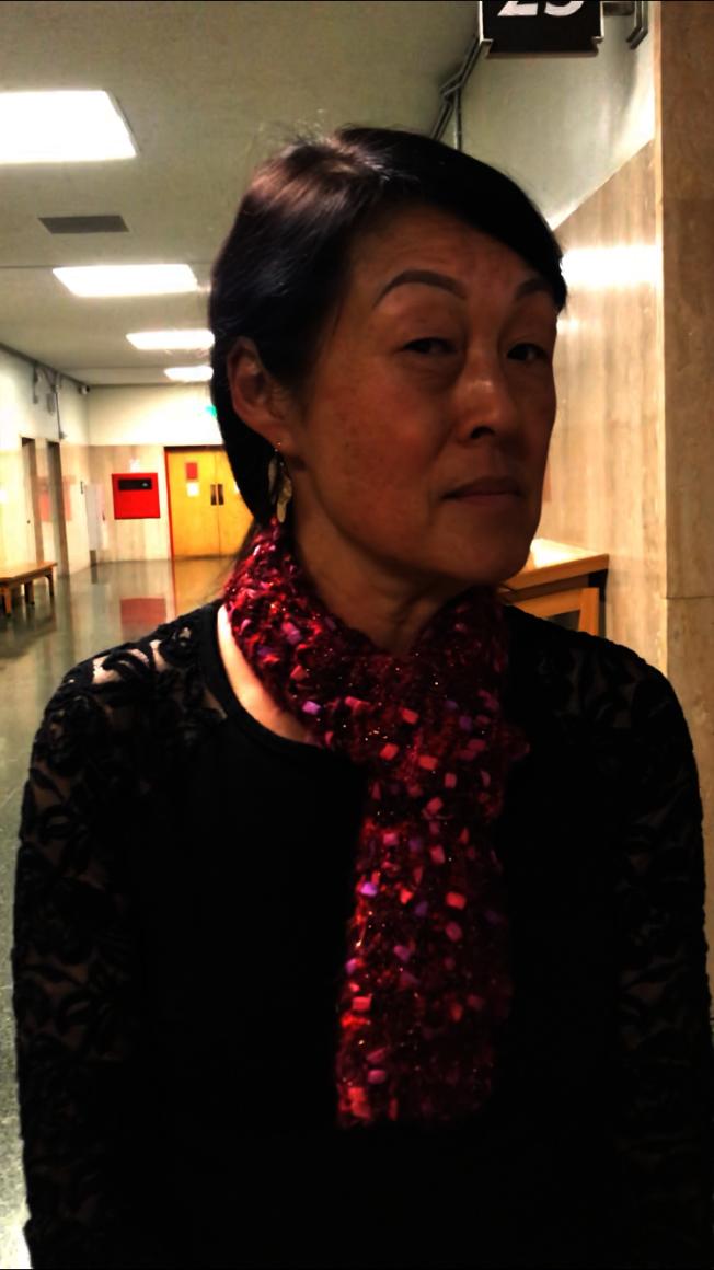 Sujung Kim堅稱她的當事人基德無意侵犯受害人。(記者黃少華/攝影)