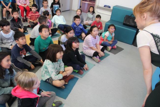 聯合學區的學生中,亞裔學生在多項指標排名第一。(記者李晗╱攝影)