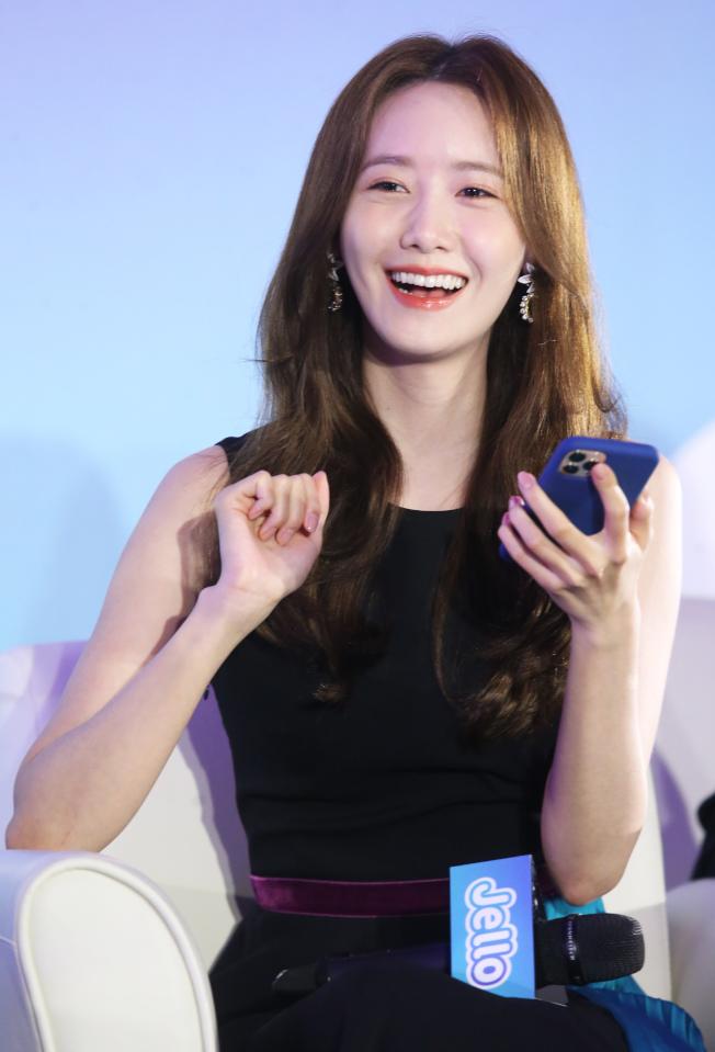 韓團「少女時代」成員潤娥中文程度佳,卻沒機會展現。(記者徐兆玄/攝影)