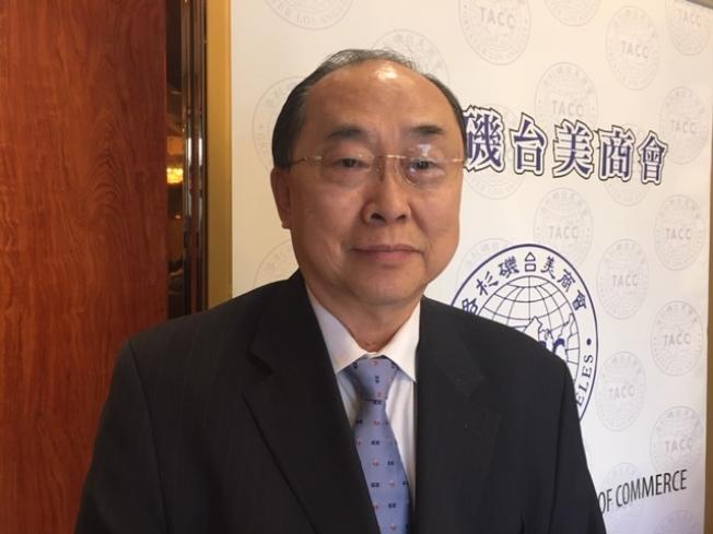 國民黨海外不分區前立法委員詹凱臣。(記者楊青/攝影)