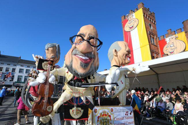 聯合國教育、科學及文化組織13日把比利時亞斯特市的嘉年華從世界遺產名錄撤銷。(Getty Images)