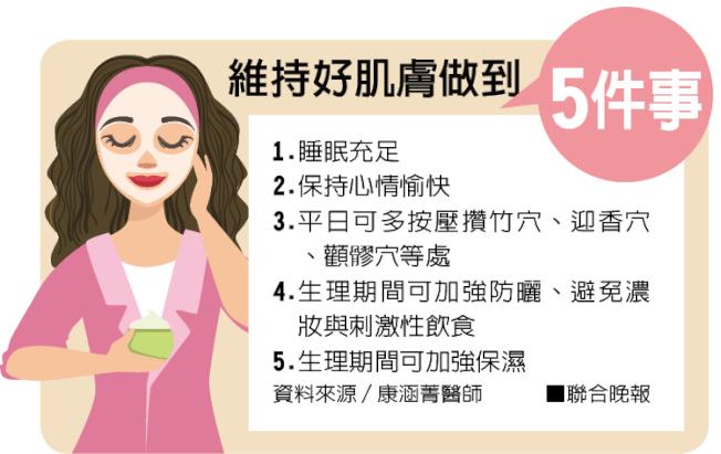 維持好肌膚做到5件事。圖/聯合晚報