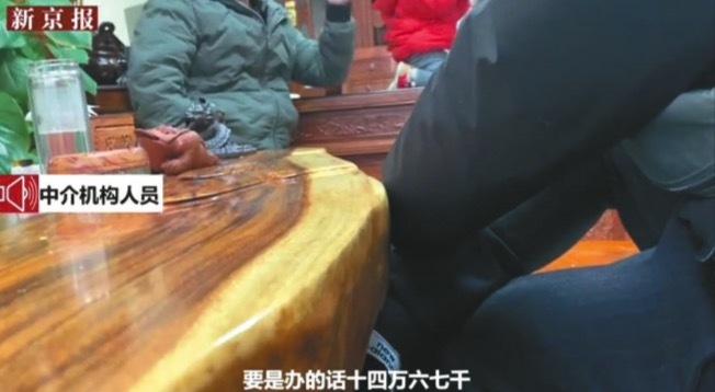 「京牌」黑市猖狂,喊價人民幣16萬假結婚可換京牌過戶。(取材自新京報)