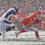 NFL/雪地大戰 酋長馴伏野馬