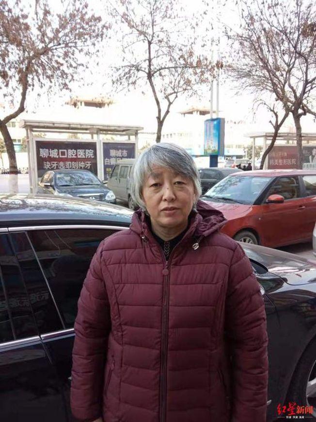 于歡母親蘇銀霞出獄時頭髮已花白。(取材自紅星新聞)