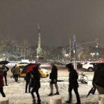 紐約市今晚迎雨夾雪 周二下凍雨