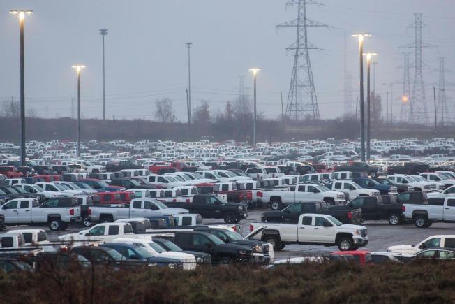 GM加拿大廠也被迫關門。(Getty Images)