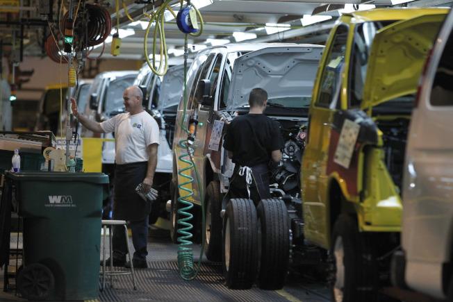 GM曾是全球最大汽車製造商。(美聯社)