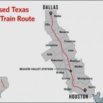 達拉斯-休士頓子彈列車 申請建造