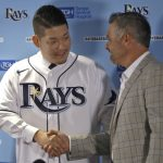 MLB/日本強棒簽光芒 筒香嘉智秀英文