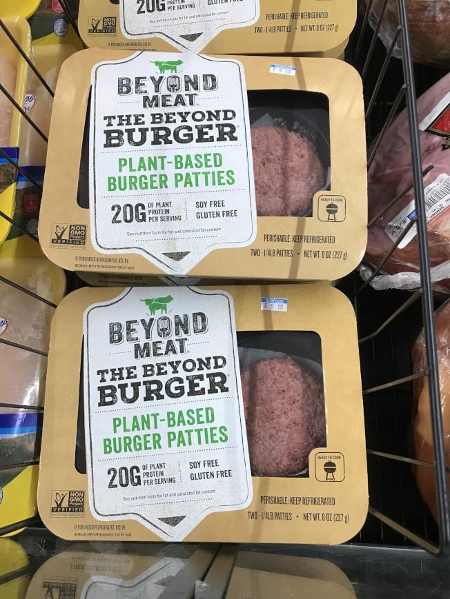 替代性肉品產業會不會是豌豆產業的救星。(張大仁/攝)