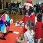 華夏中文學校遊園會 迎接耶誕