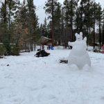冬雪早到 大熊湖笑迎滑雪客
