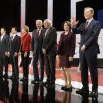 民主黨辯論側記 向對手抱歉 7人都說不出口