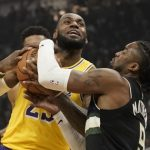 NBA/詹姆斯胸肌拉傷 對陣金塊恐缺席