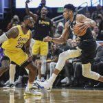 NBA/湖人公鹿「總冠軍前哨戰」 收視創新高平均280萬人看