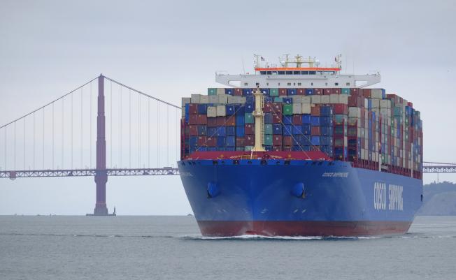 IMO將禁止船舶使用硫含量高於0.5%的燃料。(美聯社)