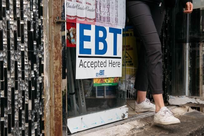 川普政府頒布的糧食券新規定,要求必須工作才能領取糧食券。(Getty Images)
