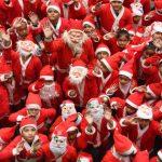 〈圖輯〉 各國人民慶耶誕!在不同地點 同盼幸福降臨