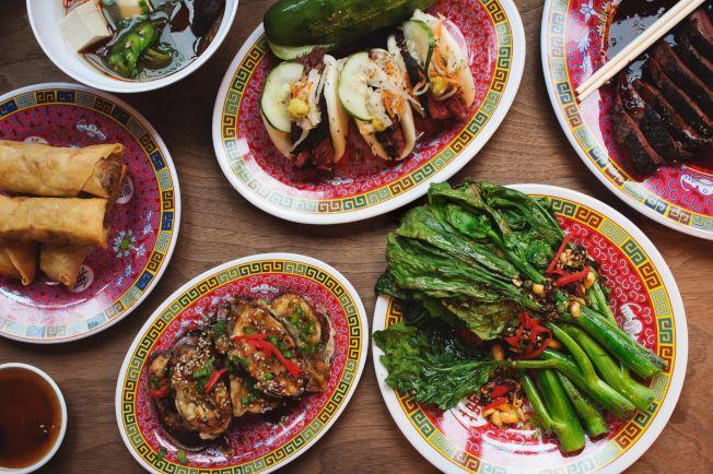往年的耶誕節推出的中餐菜品。(蒂托爾曼提供)