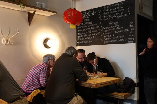 猶太裔在耶誕節吃中餐成為了傳統。(記者張晨/攝影)
