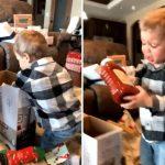 讓男孩歡呼不已的耶誕節禮物是它 超級日常!