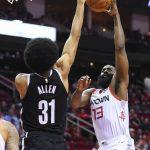 NBA/哈登+韋少合飆67分 火箭撕籃網