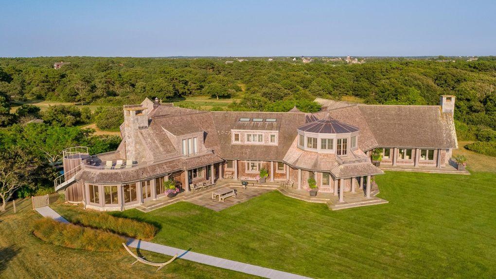前總統歐巴馬夫婦以1175萬元的價格在麻州的瑪莎葡萄園島(Martha's Vineyard)買下豪宅。圖取自realtor.com
