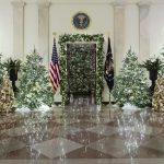 白宮現場 第一夫人將白宮變「耶誕宮」金銀相應好溫馨
