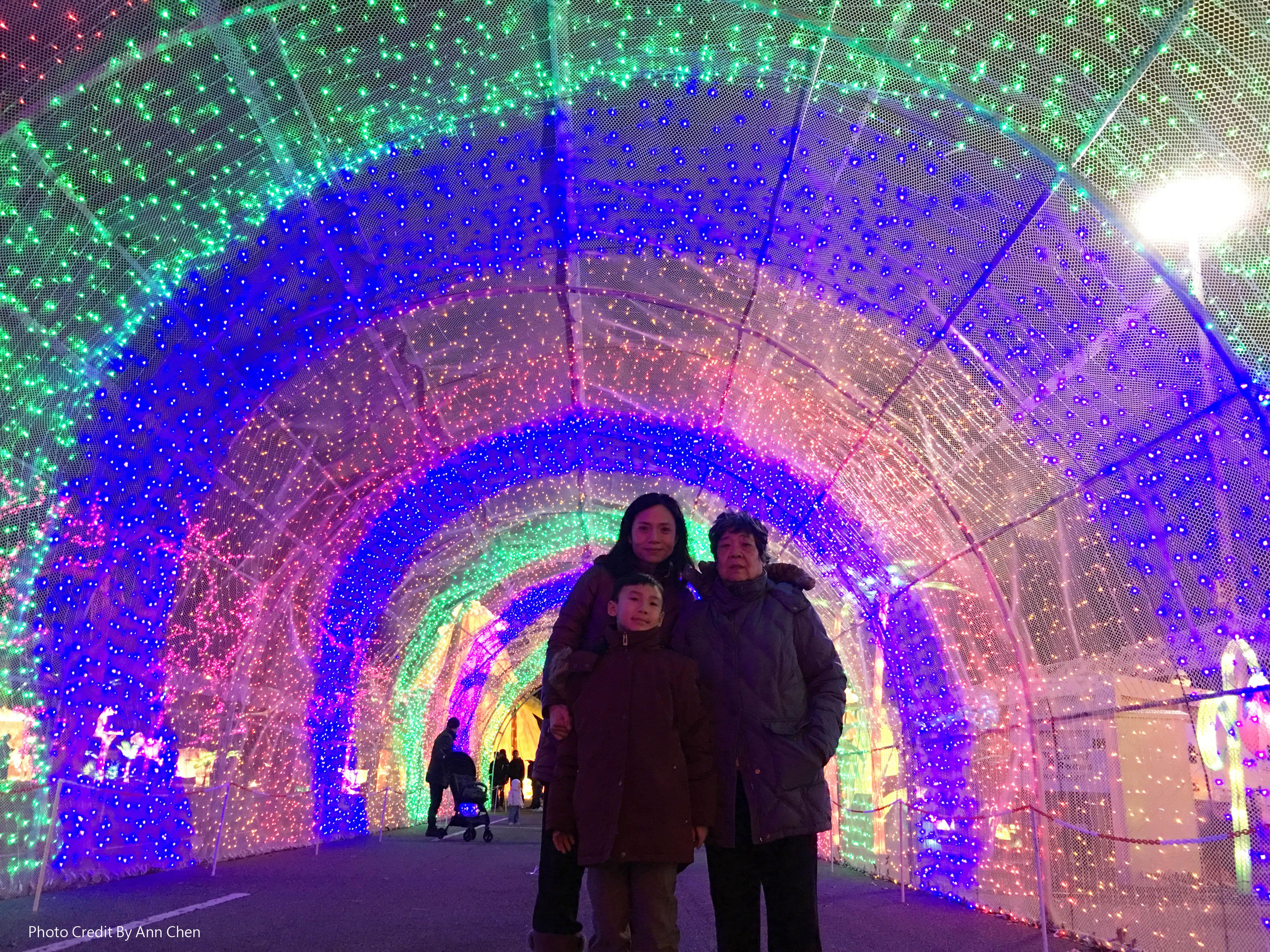 時光隧道。陳婉菱/攝影
