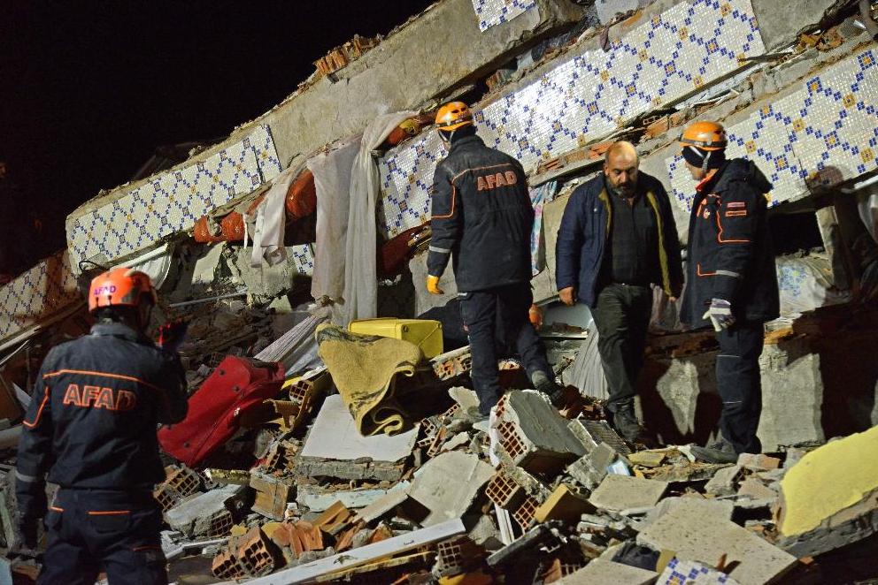 土耳其東部艾拉齊省今晚發生規模6.5地震。據初步報告,地震已造成6人死亡。Getty Images