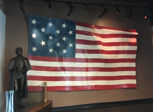 1794年的美國國旗。