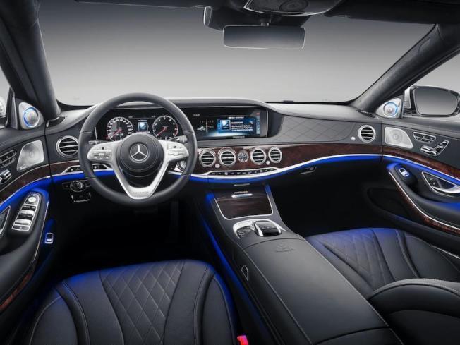 尊貴的內裝。(Mercedes-Benz)