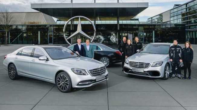 S-Class生產突破50萬輛。(Mercedes-Benz)