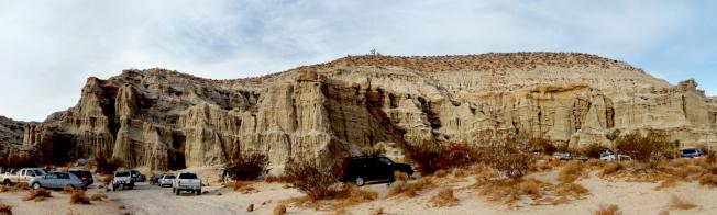 紅岩峽谷的里卡多露營地。